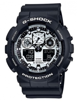 Casio G-Shock GA-100BW-1A